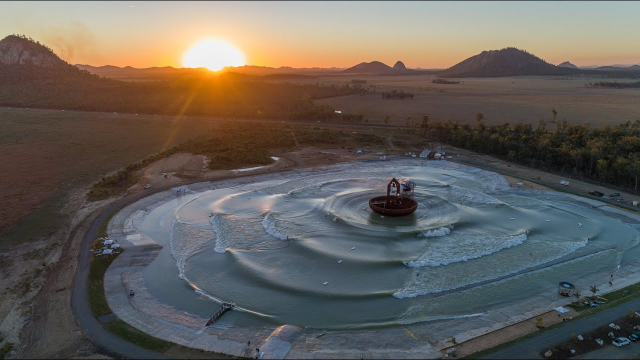 Coastline Magazine visited Surf Lakes' 5 Waves R&D site in Yeppoon