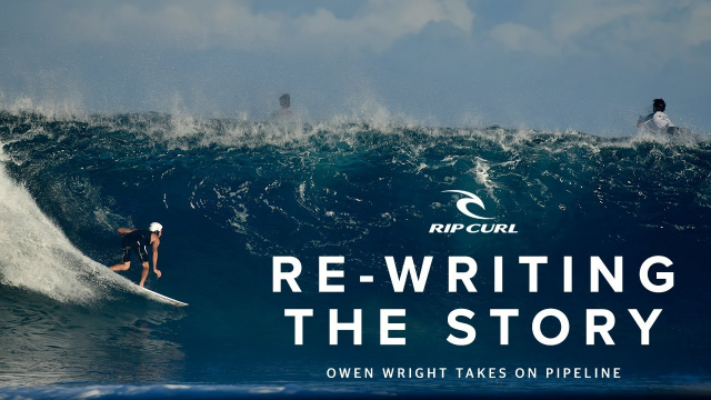 Re-Writing the Story: Owen Wright Takes on Pipeline | North Shore 2019