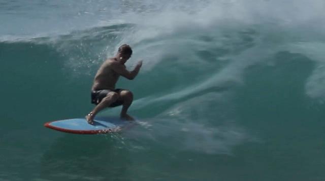 Jye Byrnes Surfboards Boardscape Twin fin fish model