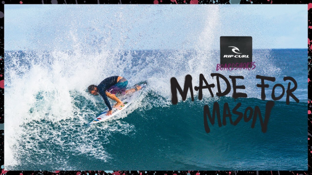 Mason Ho | Made For Waves 2019 – Hawaii to Indo | Mirage Haze Boardshort