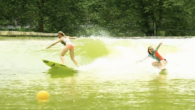 Billabong Womens invade the Wavegarden