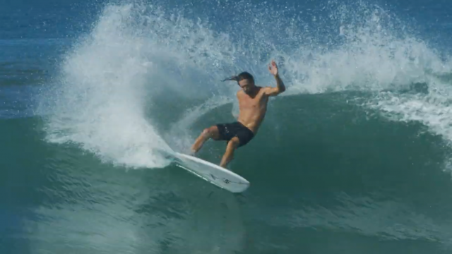 Asher Pacey joy ride on a Album 4'10 Plasmic down in Mainland Mex for SNAPT 4