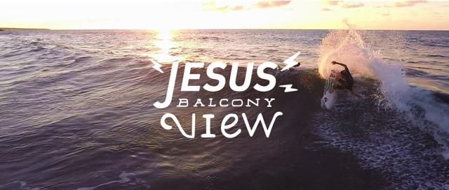 Jesus balcony view
