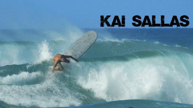 "Kai Sallas | 9'1"" Thunderbolt Technologies | Kai Sallas Longboard Company"