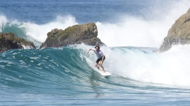 Shane Borland In Warm Water