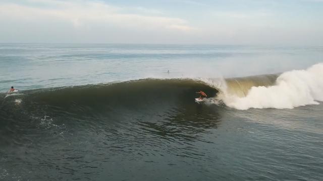 Surfeando en El Salvador, julio 2018 !