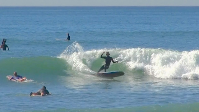 ALEX KNOST & friends single fin SHREDDING at SAN-O