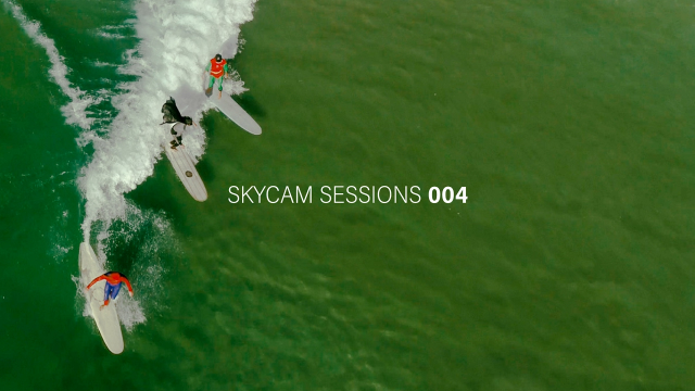 Noosa Surfing Skycam Sessions 004: Super Hero's Battle at Little Cove