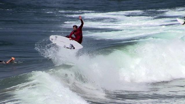 Dane Reynolds Surfing