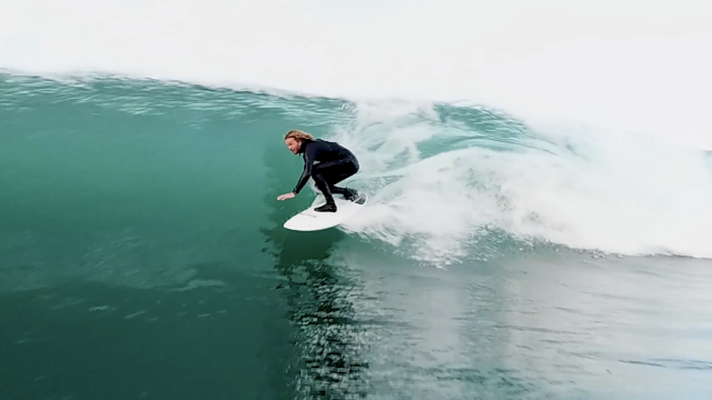 Blair Conklin Not On A Skimboard