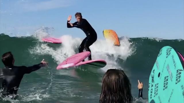 The Surfing Gauntlet