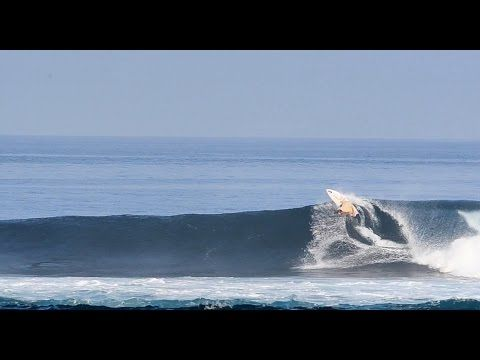 First Surf in Galapagos, Kepa Acero