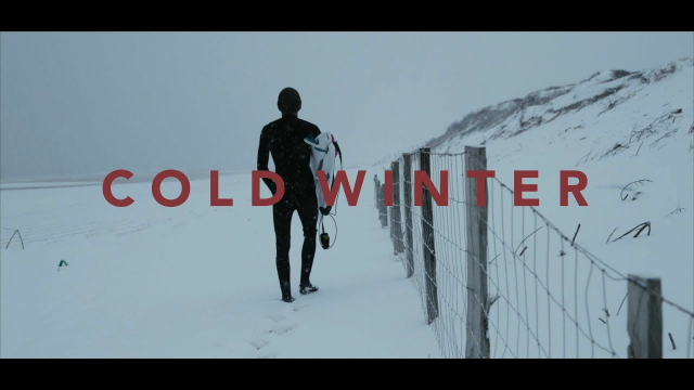 COLD WINTER ( A surf film ) - Hugo Boulenger