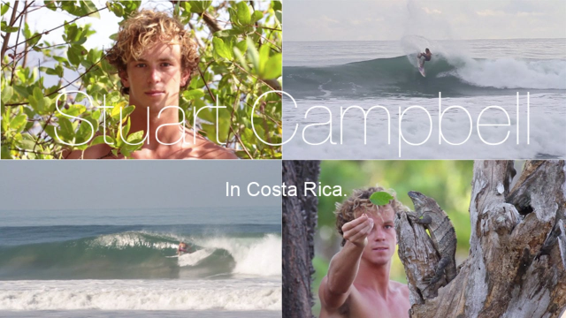 Stuart Campbell in Costa Rica