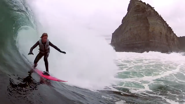 Shipstern Bluff, The youngest kid ever to charge solid Shipstern
