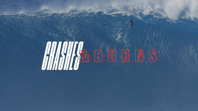 Two Years Worth of God Awful Jaws Wipeouts | Crashes and Burns