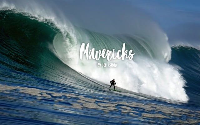 Mavericks · first swell of the season