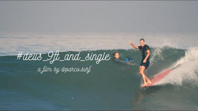 Deus 9ft & single 2017 by @parco.surf