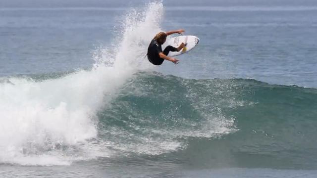 Kai Otton Surfing Lower Trestles