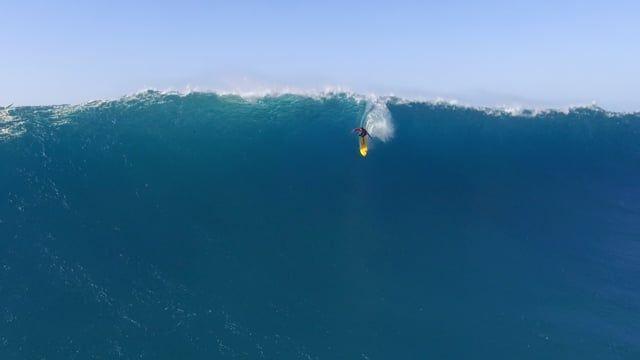Waimea Bay Surfing Drone Video.