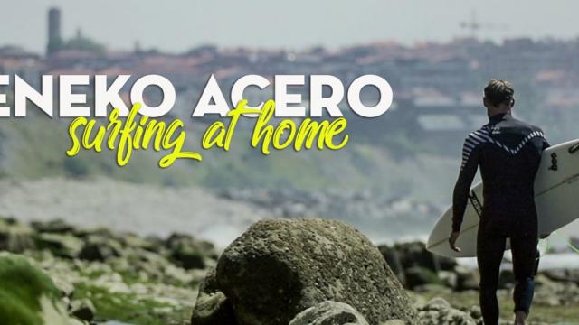 ENEKO ACERO | SURFING AT HOME