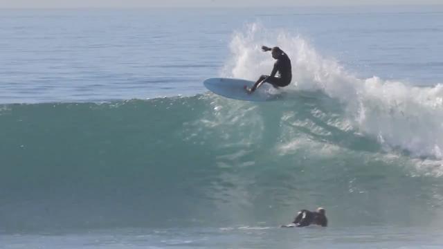 "Devon Howard surfing a 6'10"" Egg"