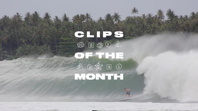 Historic Nias Swell Dominates our Best of July List | Clips of the Month