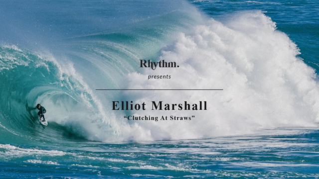 Elliot Marshall - Clutching At Straws