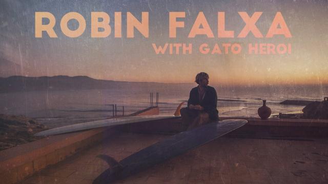 Robin Falxa with Gato Heroi