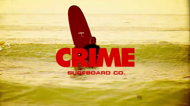 Max Caldwell x Crime Surfboards