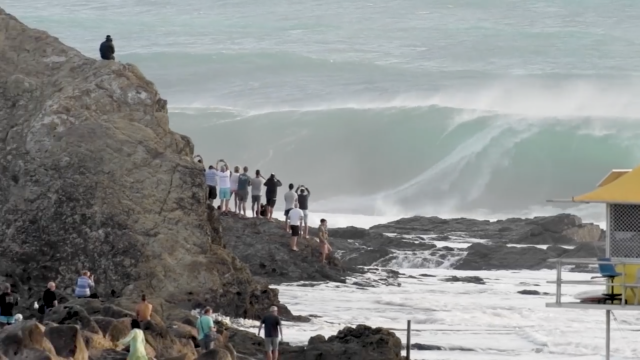 Currumbin Alley Goes Nuclear