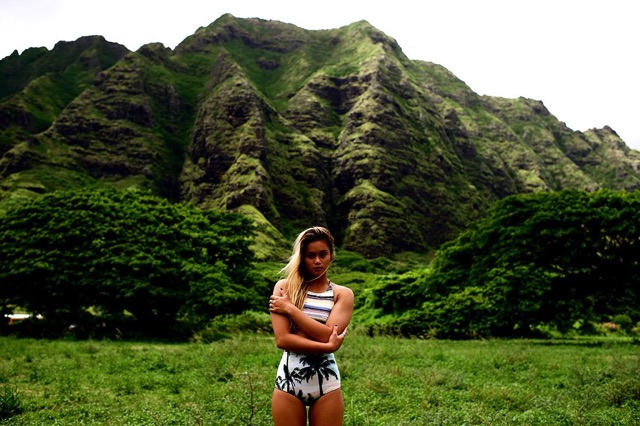 Alessa Quizon - Professional Surfer from Oahu, Hawaii