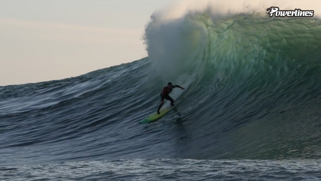 MAVERICKS LEFT SESSION 2020 [POWERLINES]