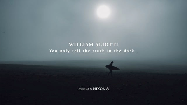 Nixon | You only tell the truth in the dark: William Aliotti