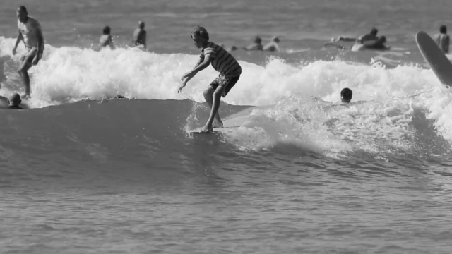 Tommy Coleman Free Surfing at Noosa