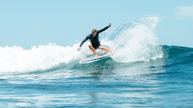 Asher Surfs The Mason Twin