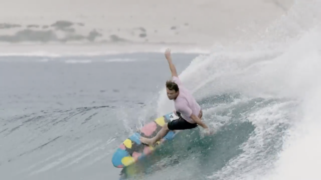 "Dane Reynolds Calls It ""The Underbelly Of Stab In The Dark"""