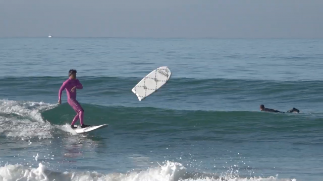 Pulling FIRST surfing Huckleberry !!!