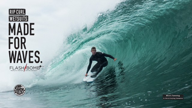 Made For Waves | Wetsuits by Rip Curl