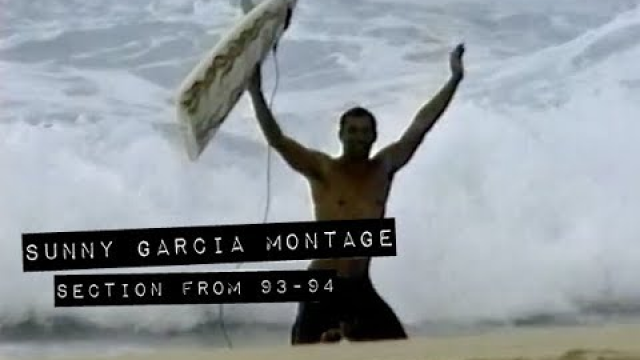 SUNNY GARCIA montage from Early '90s (The Momentum Files)