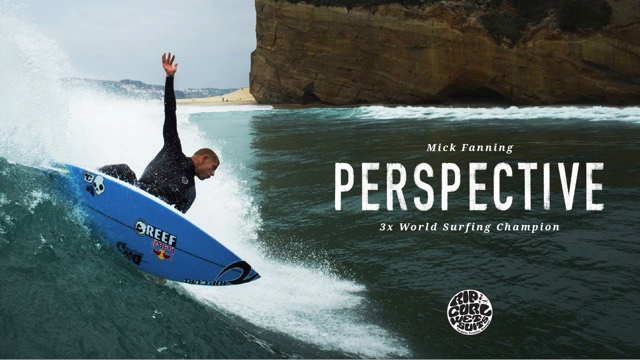 Perspective I Mick Fanning solo session somewhere in Peniche