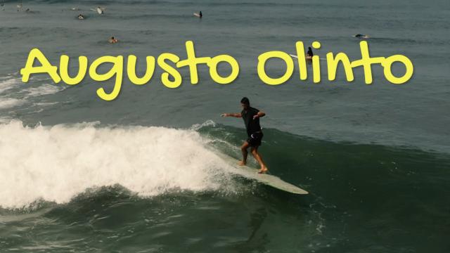 Augusto Olinto - longboarder