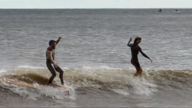 CVRRENT // Tosh & David Freesurf at Duct Tape Invitational Rockaway, NY