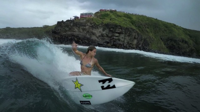 GoPro: Courtney Conlogue Shreds a Right-Hander - GoPro Challenge Maui