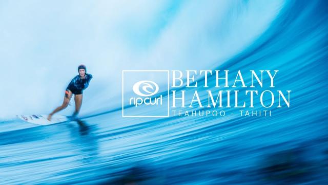 Bethany Hamilton   Teahupo'o, Tahiti 2018