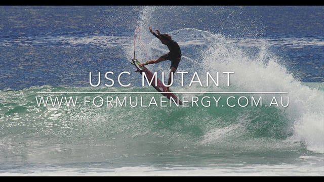 Mutant Model Surfboard in full flight