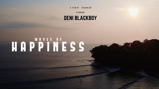 waves of happiness #1 - Deni Blackboy      #batukarasbagus #westjava