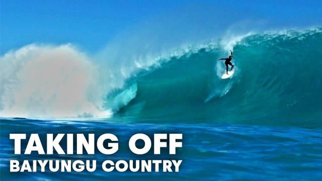 Surfing Huge Barrels In Remote Western Australia's Baiyungu Country | Taking Off
