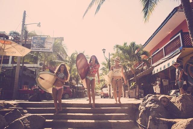 A Bikini Kinda Life in Sayulita - Spring 15