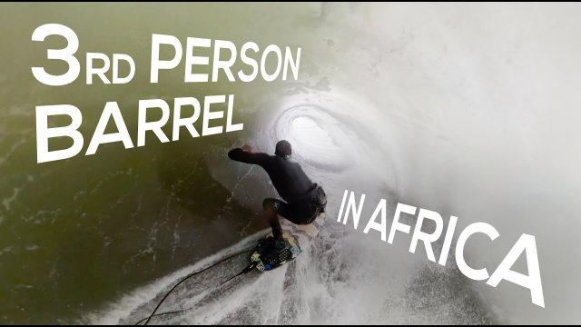 Koa Smith: 3rd Person Barrel in Africa